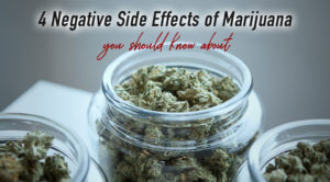 Negative Side Effects of Marijuana