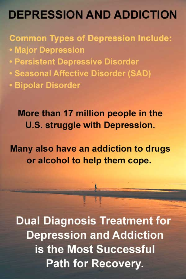 depression and addiction treatment
